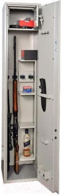 Оружейный сейф Valberg ШХО-1480Э - открытый