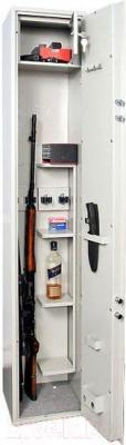 Оружейный сейф Valberg ШХО-1630Э - открытый