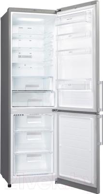 Холодильник с морозильником LG GA-M589ZMQZ - внутренний вид