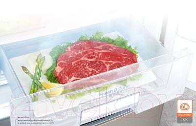 Холодильник с морозильником LG GA-M589ZMQZ