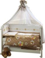 Комплект в кроватку Perina Тиффани Т3-02.0 (Цветы) -