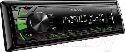 Бездисковая автомагнитола Kenwood KMM-101GY - общий вид