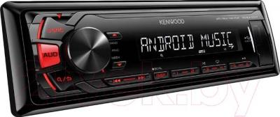Бездисковая автомагнитола Kenwood KMM-101RY - общий вид