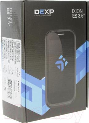 """Смартфон DEXP Ixion ES 3.5"""" (черный) - упаковка"""