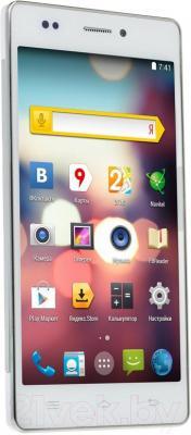 "Смартфон DEXP Ixion M 5"" (белый) - общий вид"