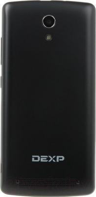 """Смартфон DEXP Ixion ML 4.7"""" (черный) - вид сзади"""
