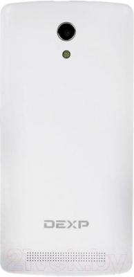 """Смартфон DEXP Ixion ML 4.7"""" (белый) - вид сзади"""