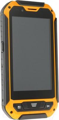 """Смартфон DEXP Ixion P 4"""" (черно-желтый) - общий вид"""