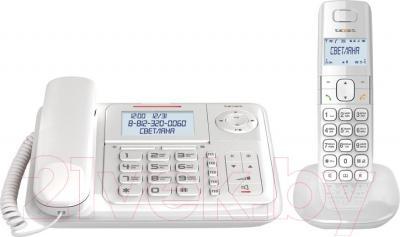 Беспроводной телефон TeXet TX-D7055A Combo (White) - общий вид
