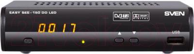 Тюнер цифрового телевидения Sven EASY SEE-150 DD LED - общий вид