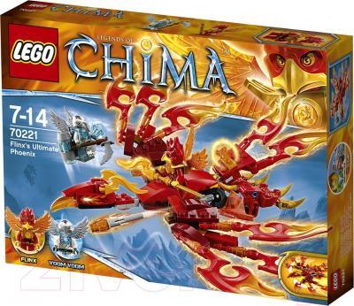 Конструктор Lego Chima Непобедимый Феникс Флинкса (70221) - упаковка