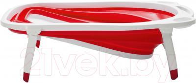 Ванночка детская Kidsmile BK20 (Red) - механизм складывания