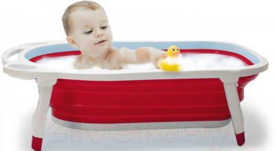 Ванночка детская Kidsmile BK20 (Red) - пример использования