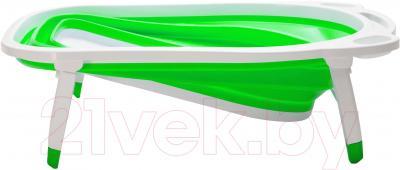 Ванночка детская Kidsmile BK20 (Green) - механизм складывания