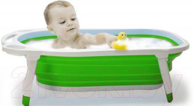 Ванночка детская Kidsmile BK20 (Green) - пример использования