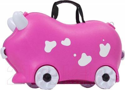 Детский чемодан Kidsmile AX22 (Pink) - общий вид