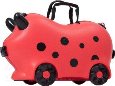 Детский чемодан Kidsmile AX22 (Red) - общий вид