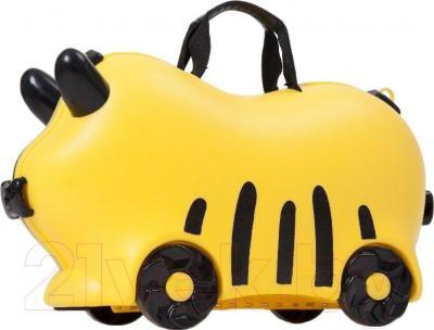 Детский чемодан Kidsmile AX22 (Yellow) - общий вид