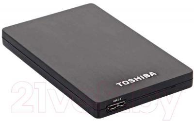 Внешний жесткий диск Toshiba PA4265E-1HJ0 (Black) - общий вид