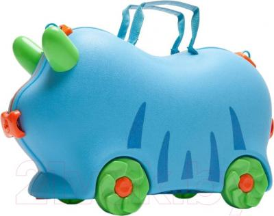Детский чемодан Kidsmile AX22 (Blue) - общий вид