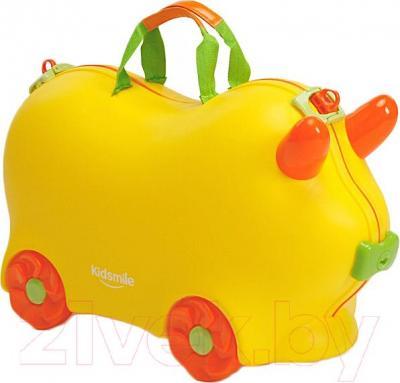 Детский чемодан Kidsmile AX21 (Yellow) - общий вид