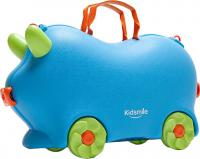 Детский чемодан Kidsmile AX21 (Blue) -
