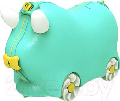 Детский чемодан Kidsmile AX21 (Green) - общий вид