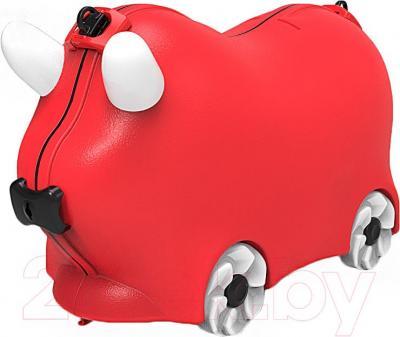 Детский чемодан Kidsmile AX21 (Red) - общий вид