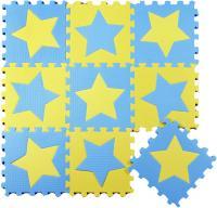 Коврик-пазл KidsTime MD1255 (желто-синий) -