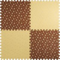 Коврик-пазл KidsTime MD1465 (бежево-коричневый) -
