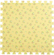 Коврик-пазл KidsTime MD1223 (желтый) -