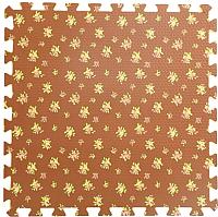 Коврик-пазл KidsTime MD1221 (коричневый) -