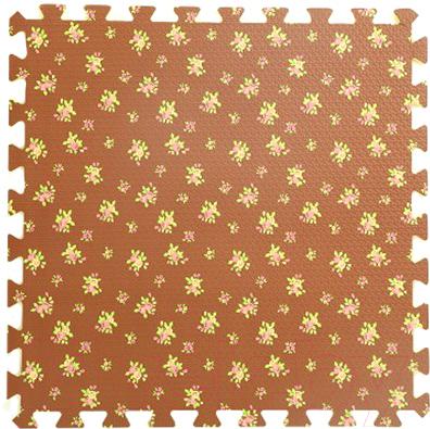 Коврик-пазл KidsTime MD1221 (коричневый)