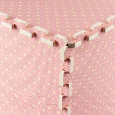 Коврик-пазл KidsTime MD1149 (розовый) - угловое соединение