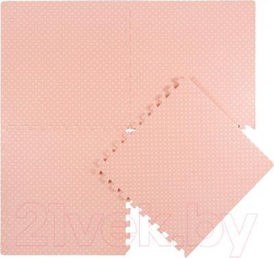 Коврик-пазл KidsTime MD1149 (розовый) - общий вид