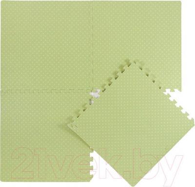 Коврик-пазл KidsTime MD1220 (зеленый) - общий вид
