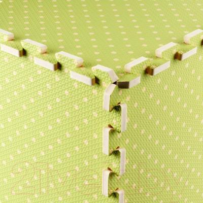 Коврик-пазл KidsTime MD1220 (зеленый) - угловое соединение