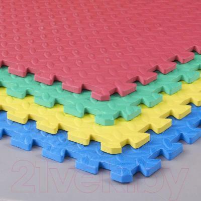 Коврик-пазл KidsTime MD1299 (разноцветный) - в разобранном виде