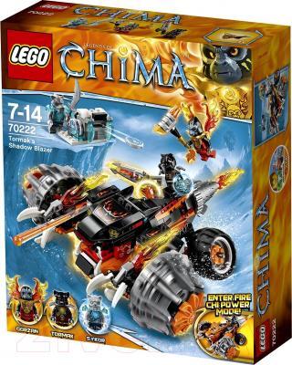 Конструктор Lego Chima Огненный Вездеход Тормака (70222) - упаковка