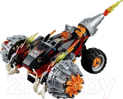 Конструктор Lego Chima Огненный Вездеход Тормака (70222) - вездеход