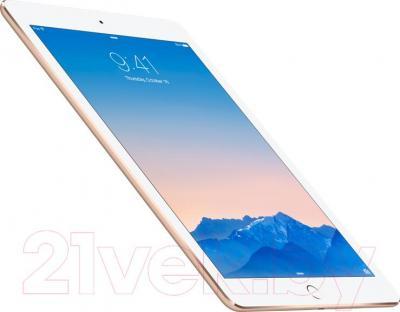 Планшет Apple iPad Air 2 16Gb 4G / MH1C2RU/A (золотой) - вполоборота
