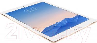 Планшет Apple iPad Air 2 16Gb 4G / MH1C2RU/A (золотой) - вид лежа