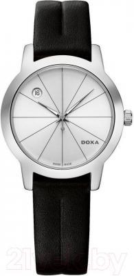 Часы женские наручные Doxa Grafic Round Lady 357.15.021.01