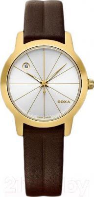 Часы женские наручные Doxa Grafic Round Lady 357.35.021.02