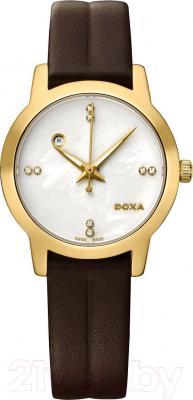 Часы женские наручные Doxa Grafic Round Lady 357.35.057D.02
