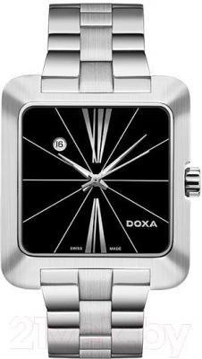 Часы мужские наручные Doxa Grafic Square N2 Gent 360.10.102.10 - общий вид