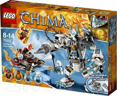 Конструктор Lego Chima Ледяной бур Айсбайта (70223) - упаковка