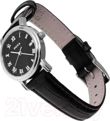 Часы женские наручные Doxa New Royal Lady 221.15.102.01 - вполоборота