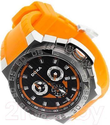 Часы мужские наручные Doxa Splash Gent Chrono 700.10.351.21 - вполоборота
