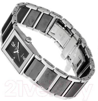 Часы женские наручные ATLANTIC Searamic Rectangular 92045.53.65 - вполоборота